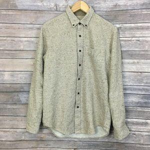 Club Monaco Japanese Fabric Button Down Shirt